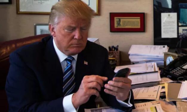 Donald Trump Misspells Tweet Blasting China's 'Unpresidented' Seizure Of U.S. Drone Ship
