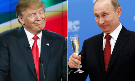 Surprise! Donald Trump Ready to Remove Russian Sanctions