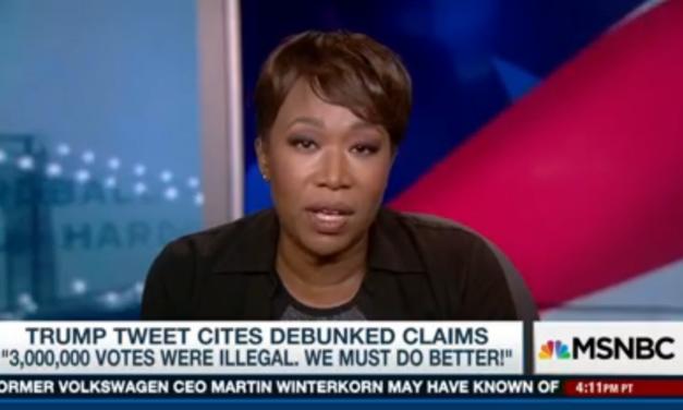 WATCH: MSNBC's Joy Reid Slams Trump Over His Voter Fraud Lie