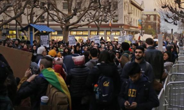 Huge Protest Erupts On UC Berkeley Campus Against White Supremacist Milo Yiannopoulos