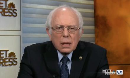 WATCH: Sanders Slams Trump For Failing To Drain The Swamp