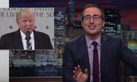 WATCH: John Oliver Asks 'How Did We Get A Pathological Liar In The White House?'