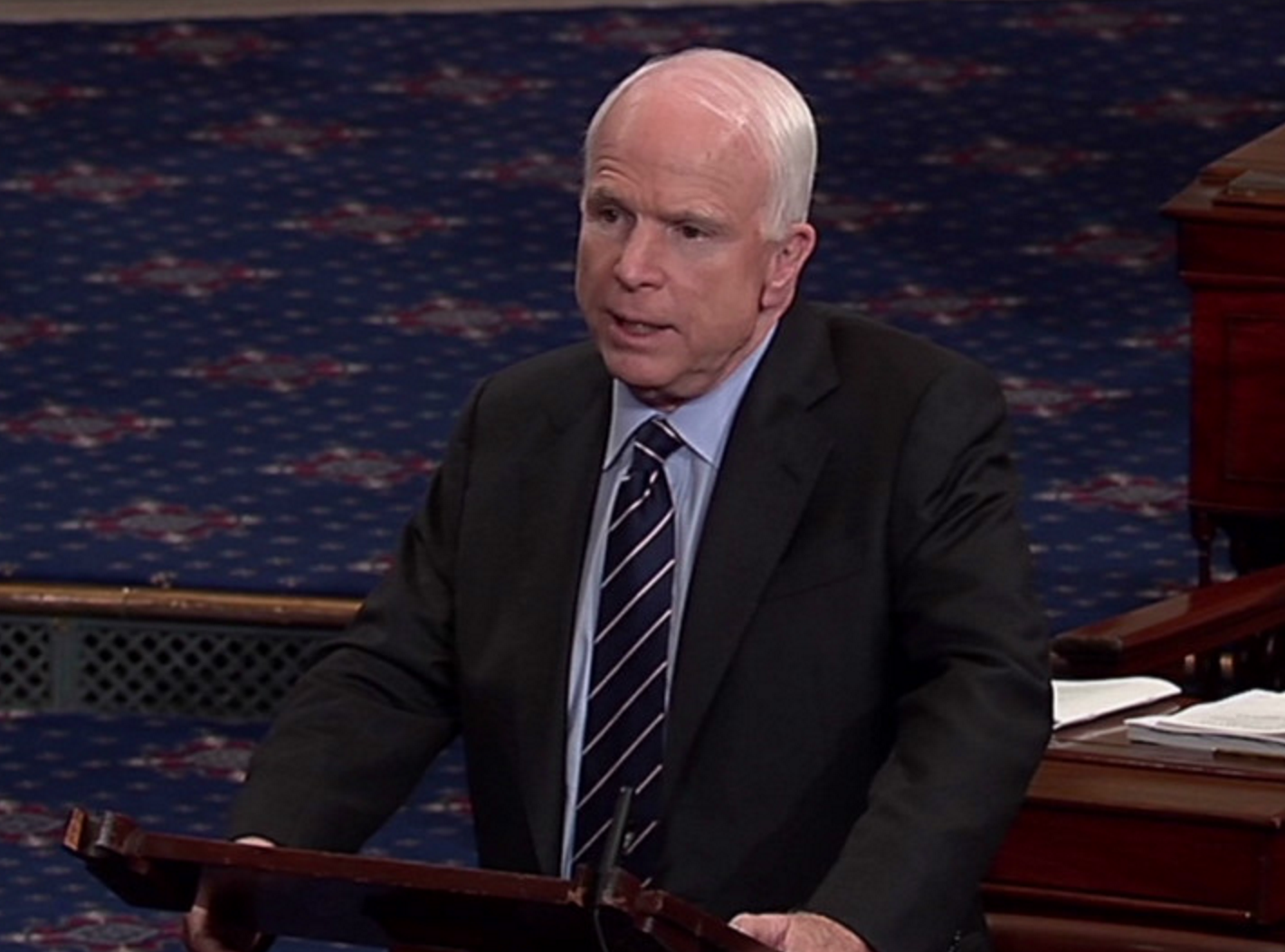 John McCain Announces He Will Oppose Trump's Pick For Management and Budget