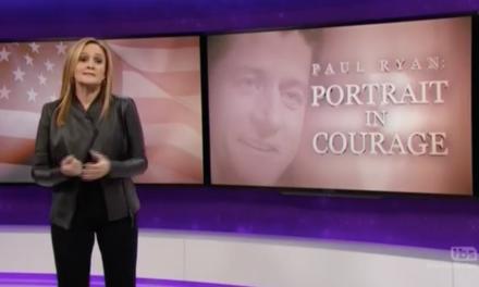 WATCH: Sam Bee Blasts Paul Ryan In 'Portrait In Courage' Segment