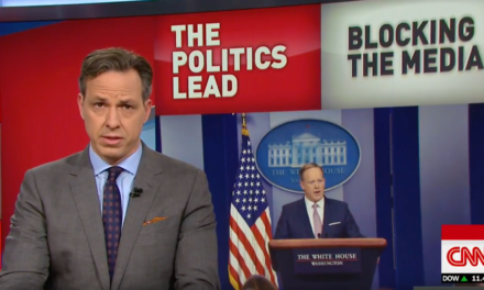 WATCH: CNN's Jake Tapper Slams Trump White House For Banning Press From Briefing