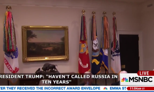 Trump Caught On Hot Mic: 'I Haven't Called Russian In 10 Years'