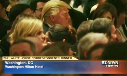 Trump Chickens Out of White House Correspondents' Dinner