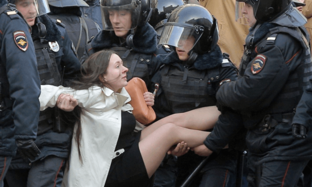 Hundreds Arrested At Massive Anti-Corruption Protests In Russia