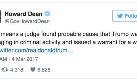 Democrats Are Responding To Trump's Obama Wiretap Claims