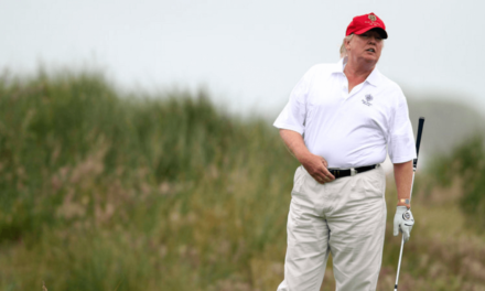 After Epic Failure Of His Health Bill, Trump Goes Golfing