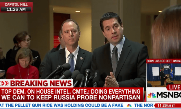 """House Intel Chair Confirms It's 'Very Possible' Trump & Co """"Swept Up"""" In Legal Surveillance"""