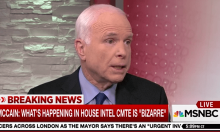 McCain: Time For Select Committee On Trump-Russia Probe
