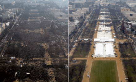 Official National Park Photos Confirm Trump's Inauguration Crowd Was Pathetically Small