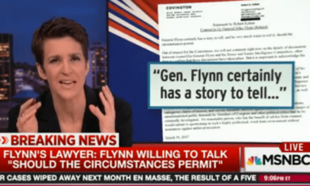 Rachel Maddow Shows Why White House's Mike Flynn Story Makes No Sense