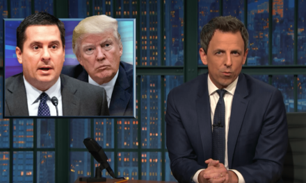 Seth Meyers Perfectly Sums Up The Devin Nunes-Trump-Russia Scandal