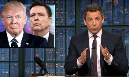 Seth Meyers Makes Hilarious Game Of Thrones Joke About Trump's 'Crazy' Tweets In The Middle Of Comey Hearing