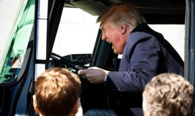Social Media Users Destroy Trump For Silly Truck Photo-Op