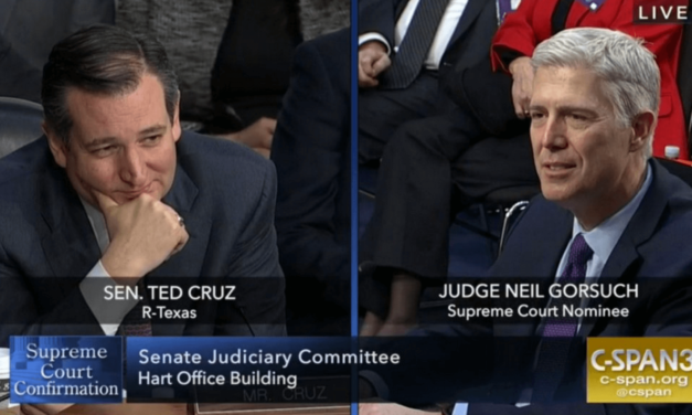 Twitter Is Roasting Ted Cruz For Looking Lovingly At Neil Gorsuch