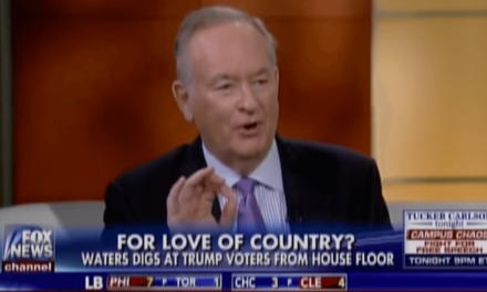WATCH: Bill O'Reilly Makes Racist Comment About Black Congresswoman's Hair