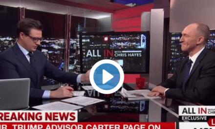 WATCH: Trump Associate Sure Sounds Like He's Hiding Something