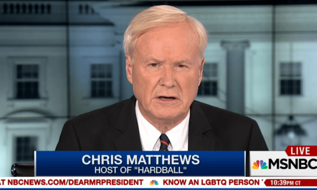Chris Matthews Gives Trump An 'F' On His First Hundred Days