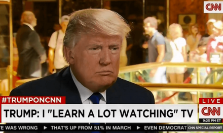 Donald Trump Can't Stop Watching Cable News: Report