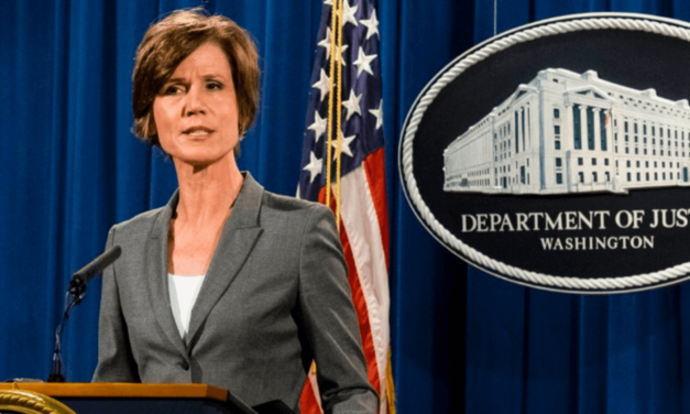 House Intel Committee Invites Former Acting Attorney General Sally Yates To Testify