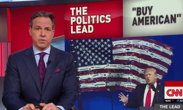 Jake Tapper Rips Trump For His Buy American Hypocrisy