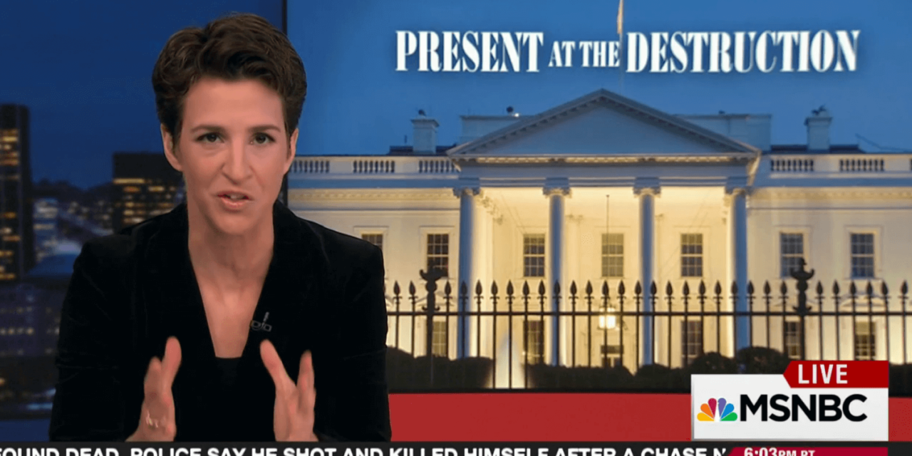Maddow Asks Important Question: Is Trump Admin Stupid Or Nefarious?