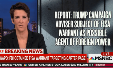 Maddow Explains Why The Carter Page FISA Story Is The Most Important Break Yet In The Trump-Russia Scandal