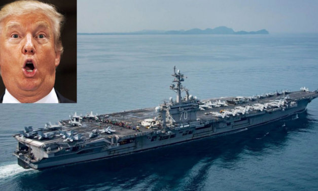 Trump Sent His North Korean 'Armada' In The Wrong Direction