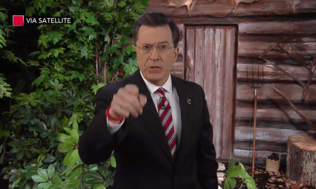 WATCH: Stephen Colbert Delivers Hilarious Tribute To Papa Bear Bill O'Reilly