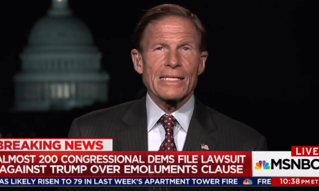 Democrats Blumenthal And Conyers Will 'Lay Out The Constitutional Case' For Emoluments Violations By Trump