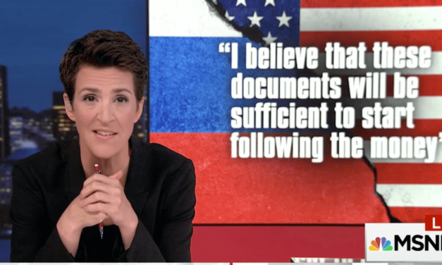 Maddow Makes Bombshell Revelation About Trump-Russia Money Laundering (Video)