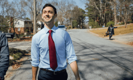 Ossoff Ahead In New Poll As Early Voting Begins in Georgia Runoff