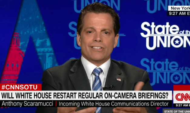 Anthony Scaramucci Just Told Sarah Sanders 'To Continue To Use The Hair And Makeup Person' (Video)