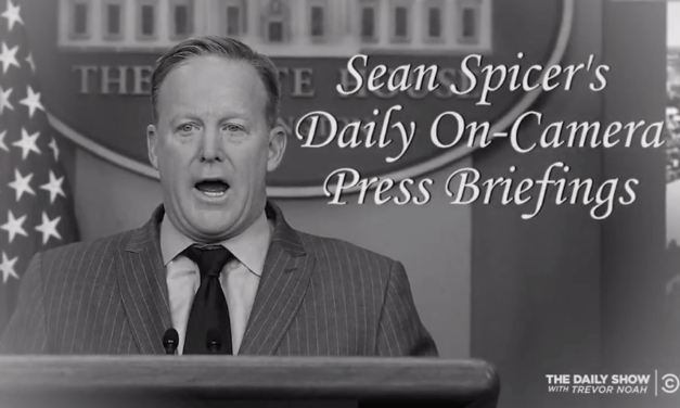 The Daily Show Just Released A Hilarious Goodbye Tribute To Sean Spicer (Video)