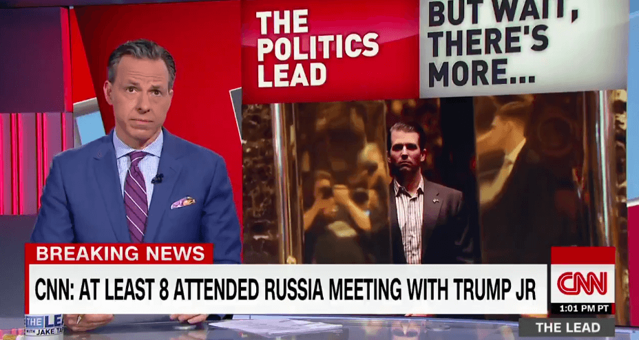 Jake Tapper Blasts White House's Incompetence Over Russia Meeting (Video)