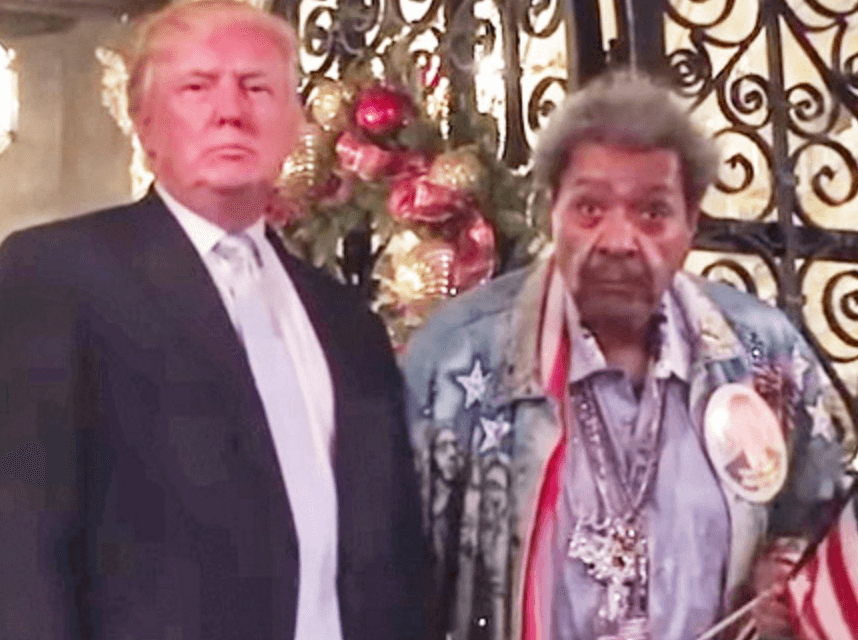 The President Of The United States Is Getting Advice From Don King
