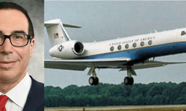 Treasury Secretary Steve Mnuchin Under Investigation For Private Jet Use