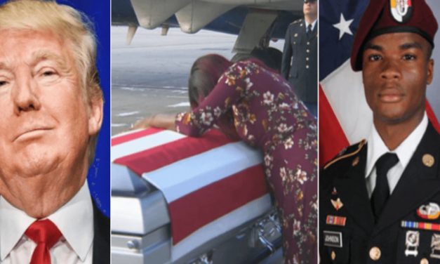 Trump To Widow Of Slain Soldier: 'He Knew What He Signed Up For'
