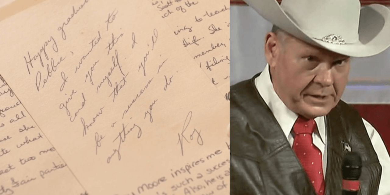 Roy Moore Accuser Shares New Evidence Of Relationship While She Was A Teen