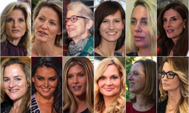 Trump's Accusers Will Hold A Press Conference Monday