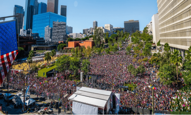 Los Angeles Women's March Draws At Least 600,000