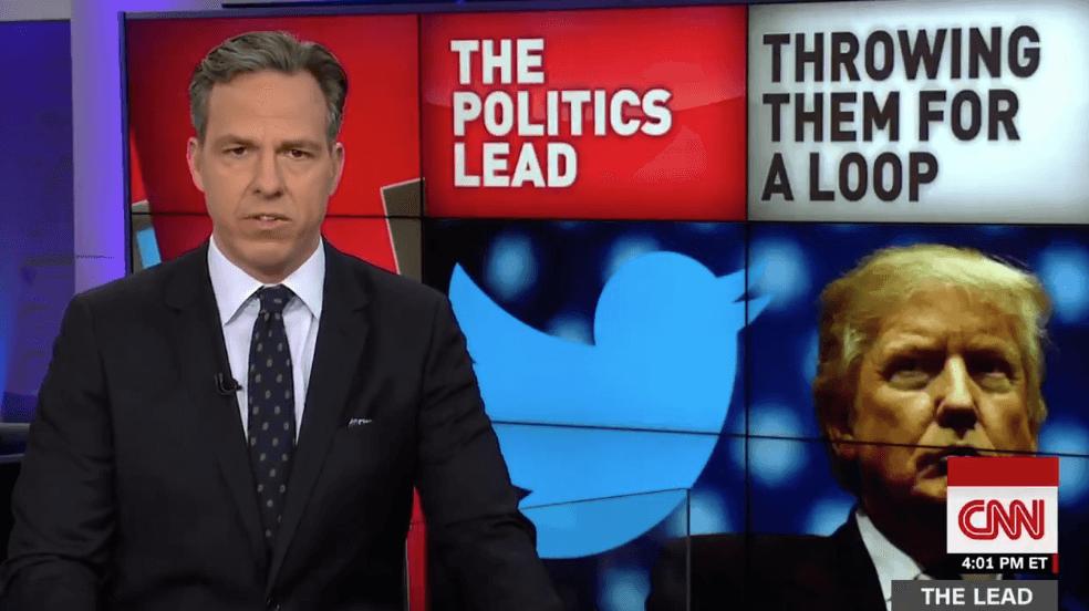 WATCH: Jake Tapper Perfectly Explains How Dangerous Trump's Fox Habit Is